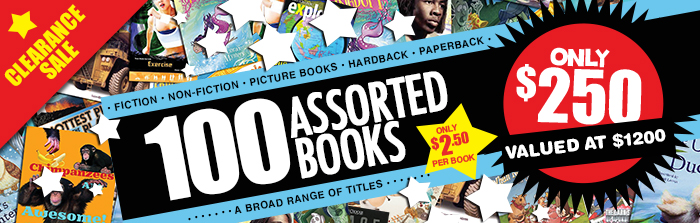 100 Assorted Books Mystery Box